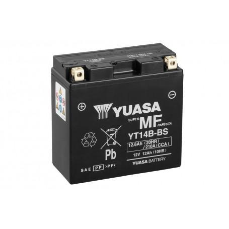 Batería YUASA YTX14B-BS (con electrolito)