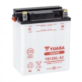 Batería YUASA YB12AL-A2 (con electrolito)