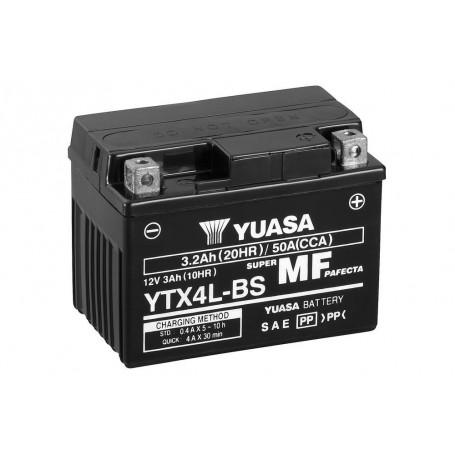 Batería YUASA YTX4L-BS (con electrolito)