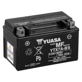 Batería YUASA YTX7A-BS (con electrolito)