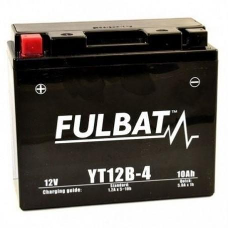 Batería FULBAT YT12B-4 (con electrolito)
