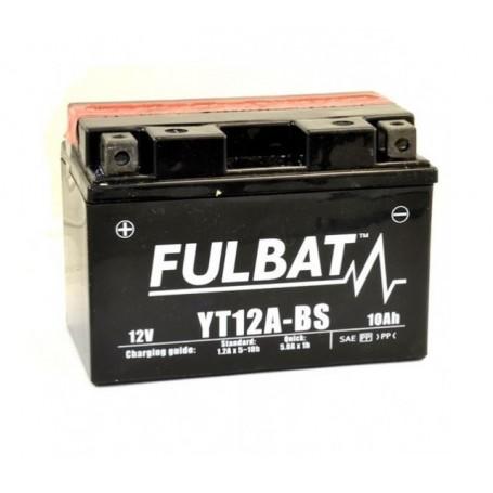 Batería FULBAT YT12A-BS (con electrolito)