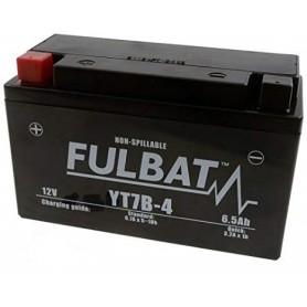 Batería FULBAT YT7B-4 (con electrolito)