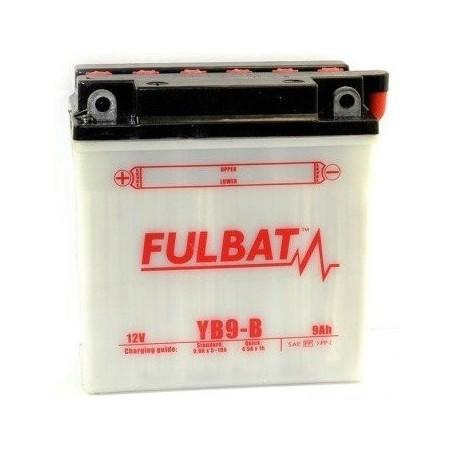 Batería FULBAT YB9-B (con electrolito)