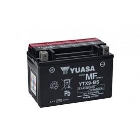 Batería YUASA YTX9-BS (con electrolito)
