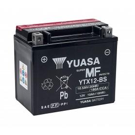 Batería YUASA YTX12-BS (con electrolito)