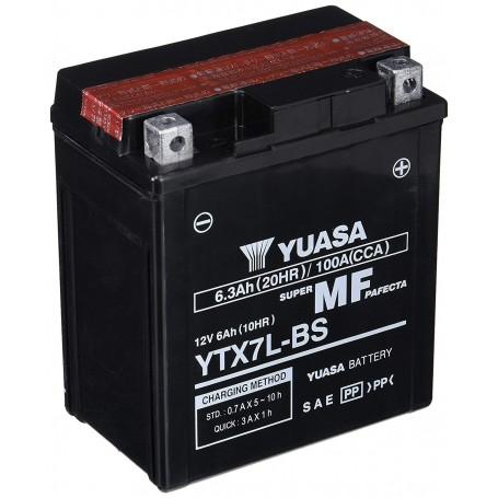 Batería YUASA YTX7L-BS (con electrolito)