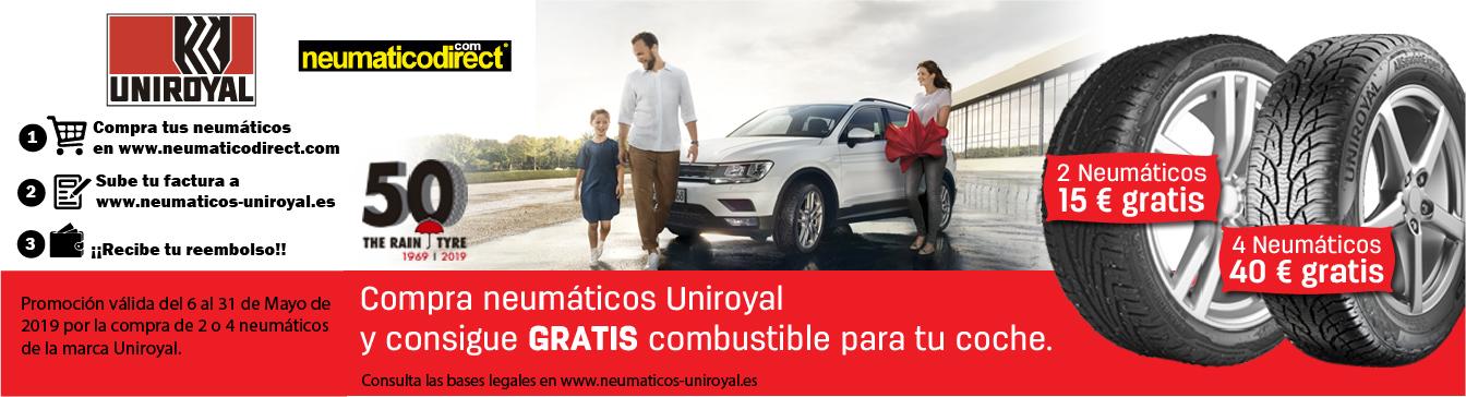Uniroyal - Gasolina gratis